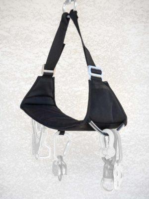 Sellette Clone 850 Travaux urbain, falaise et chaise de mât