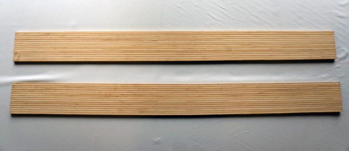 Noyau Bamboo & Paulownia-Skis-