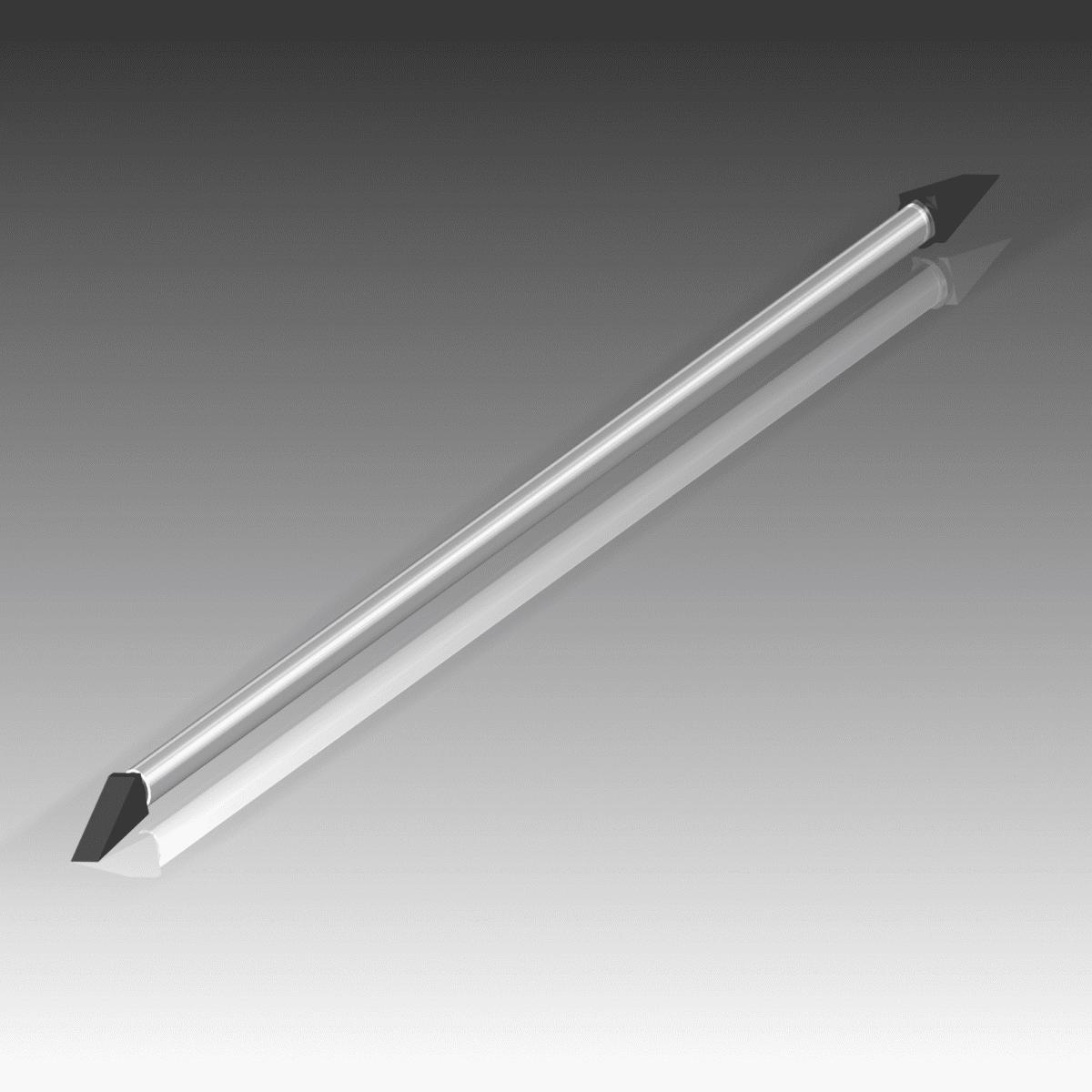 Pince ou canne à purger tube aluminium 1,7m – 4 outils