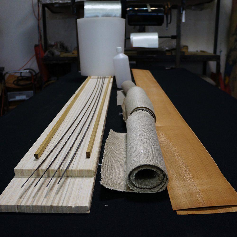 Kit DIY pour fabriquer ses skis en lin