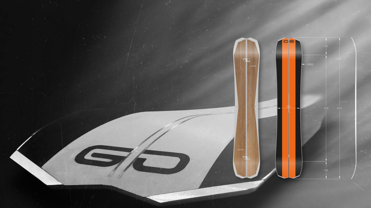 Splitboard TANGO By Clone Ind