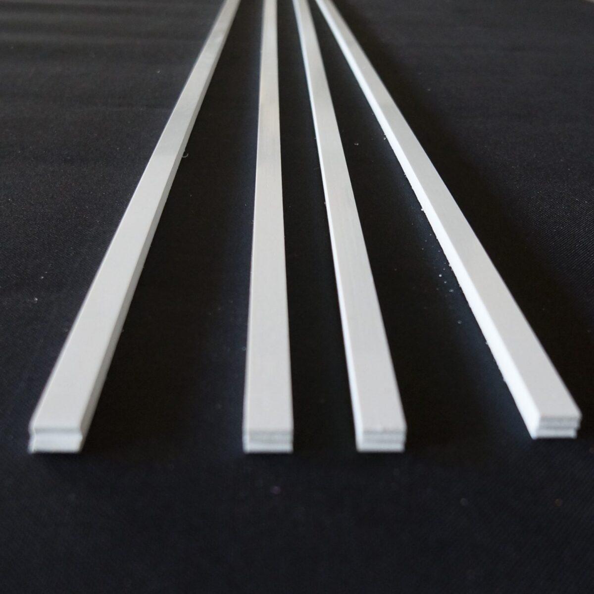 ABS blanc pour skis et snowboard – longueur 180cm