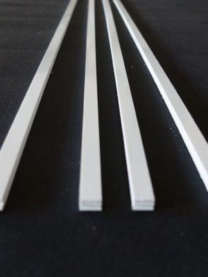 ABS blanc pour skis et snowboard – longueur 155cm