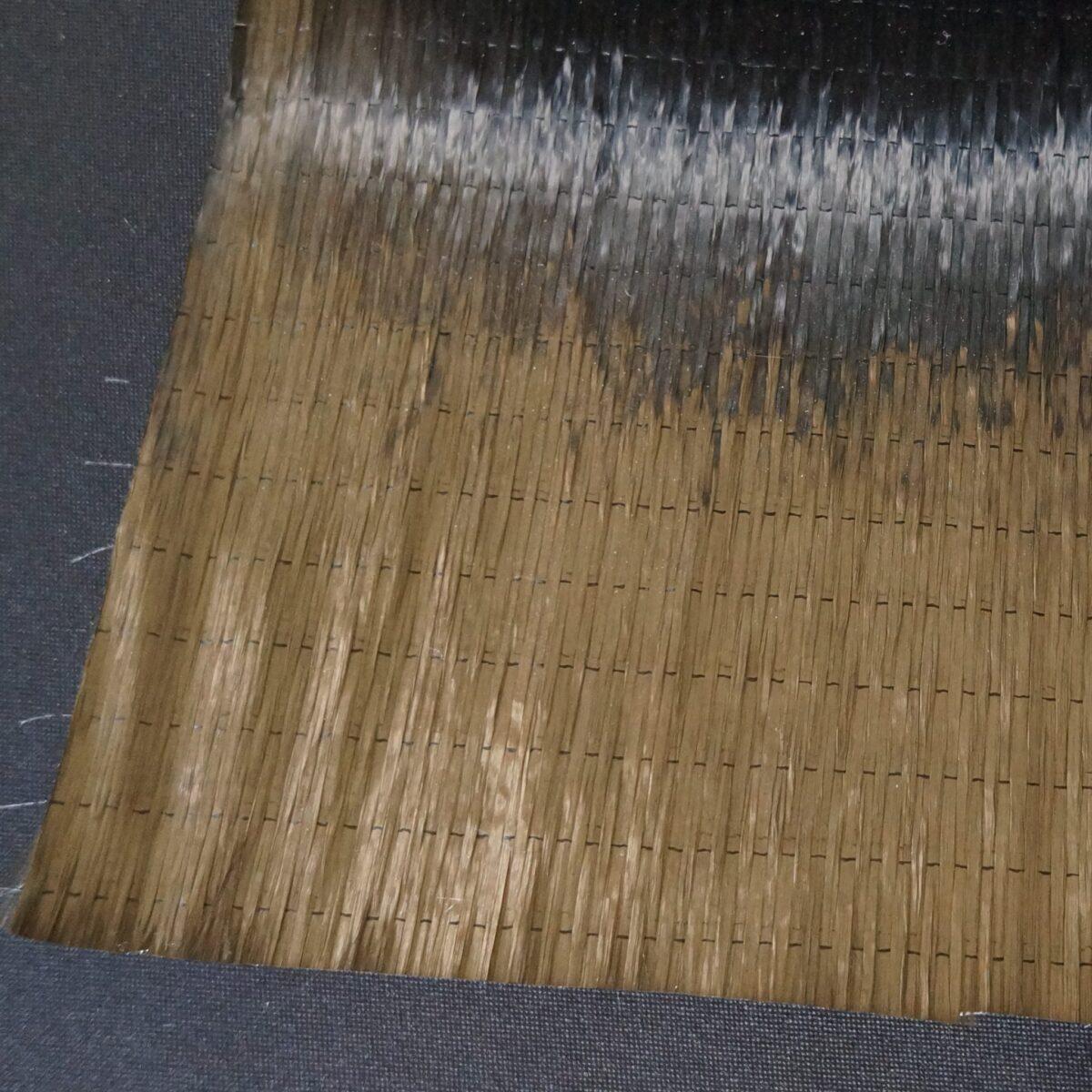 Tissu en fibre de carbone unidirectionnel haute résistance 300 g/m²