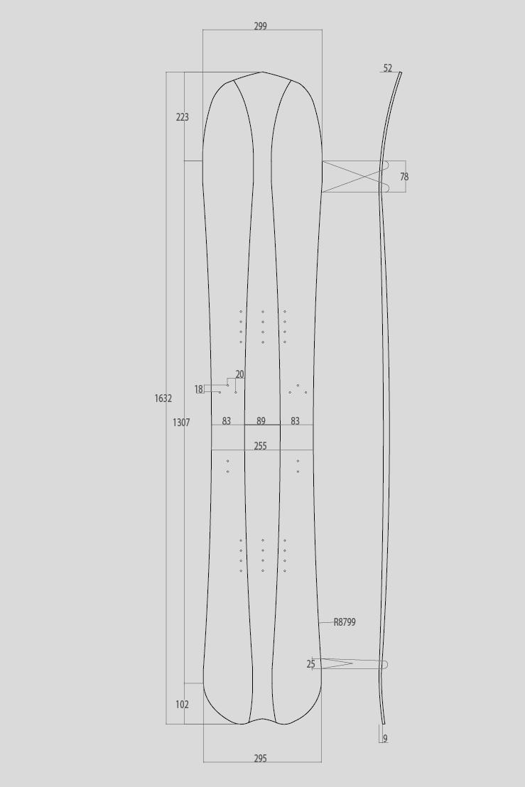 splitboard Splitboard Carbone Lin 4 parts KHAT splitboard 4 parts kaht 162 by clone2x