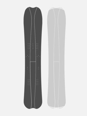 Splitboard KHAT Carbone Lin 4 parts