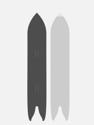 Snowboard SWALLOW CARBONE 174
